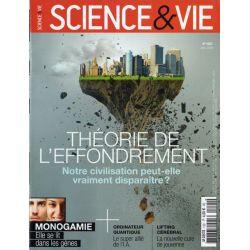 Science & Vie n° 1221 - Théorie de l'effondrement, notre civilisation peut-elle vraiment disparaître ?