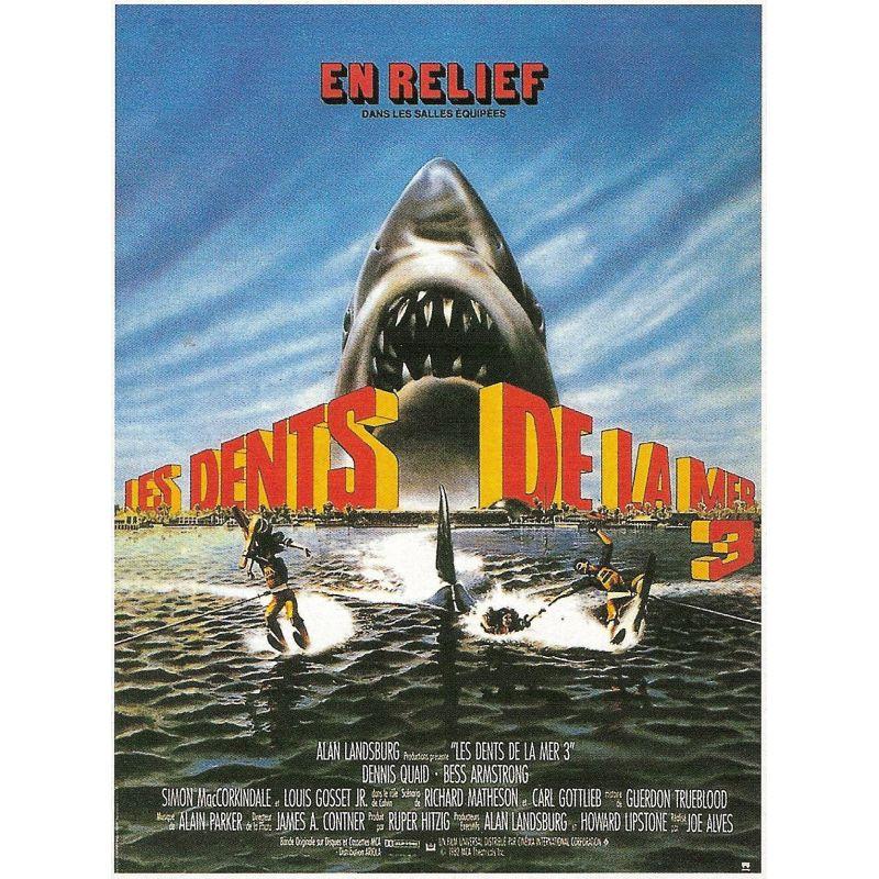 Affiche Les Dents de la Mer 3 (de Joe Alves)