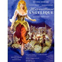 Affiche Merveilleuse Angélique (avec Michèle Mercier & Jean Rochefort)