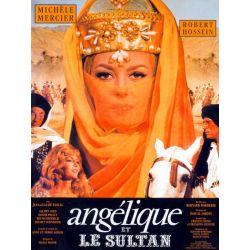 Affiche Angélique et le Sultan (avec Michèle Mercier & Robert Hossein)