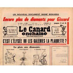 Canard Enchaîné (le) - n° 3084 - 5 décembre 1979