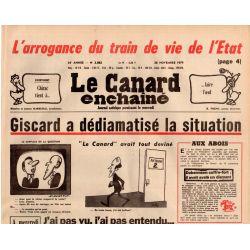 Canard Enchaîné (le) - n° 3083 - 28 novembre 1979