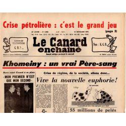 Canard Enchaîné (le) - n° 3082 - 21 novembre 1979
