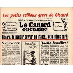 Canard Enchaîné (le) - n° 3079 - 31 octobre 1979