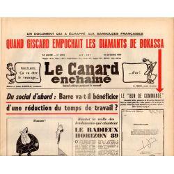 Canard Enchaîné (le) - n° 3076 - 10 octobre 1979