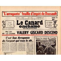 Canard Enchaîné (le) - n° 3073 - 19 septembre 1979