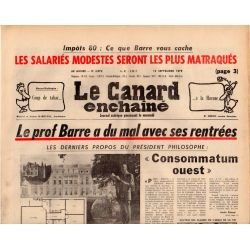 Canard Enchaîné (le) - n° 3072 - 12 septembre 1979