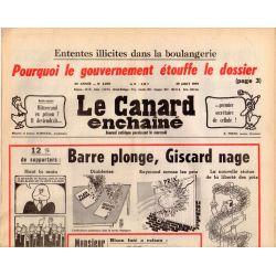 Canard Enchaîné (le) - n° 3070 - 29 août 1979