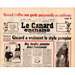 Canard Enchaîné (le) - n° 3068 - 15 août 1979