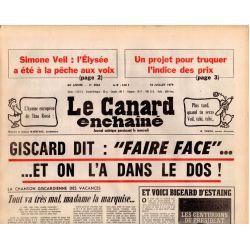 Canard Enchaîné (le) - n° 3064 - 18 juillet 1979