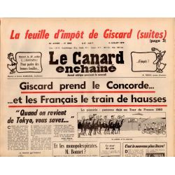 Canard Enchaîné (le) - n° 3062 - 4 juillet 1979