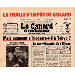 Canard Enchaîné (le) - n° 3061 - 27 juin 1979