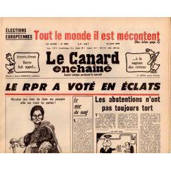 Canard Enchaîné (le) - n° 3059 - 13juin 1979