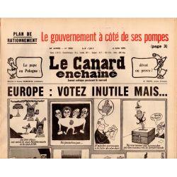 Canard Enchaîné (le) - n° 3058 - 6 juin 1979