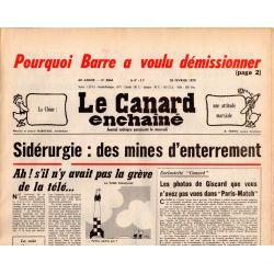 Canard Enchaîné (le) - n° 3044 - 28 février 1979 - Sidérurgie : des mines d'enterrement