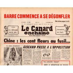 Canard Enchaîné (le) - n° 3043 - 21 février 1979 - Chine : les cent fleurs au fusil...