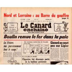 Canard Enchaîné (le) - n° 3041 - 7 février 1979 - Boulin remue le fer dans la paie