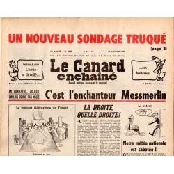 Canard Enchaîné (le) - n° 3039 - 24 janvier 1979 - L'enchanteur Messmerlin