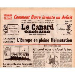 Canard Enchaîné (le) - n° 3030 - 22 novembre 1978