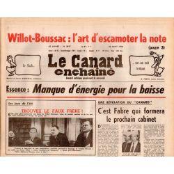 Canard Enchaîné (le) - n° 3017 - 23 aout 1978 - Essence : Manque d'énergie pour la baisse