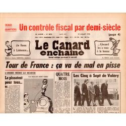 Canard Enchaîné (le) - n° 3012- 19 juillet 1978 - Tour de France : ça va de mal en pisse
