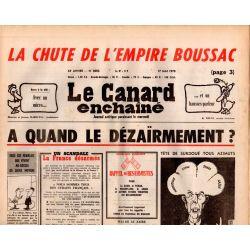 Canard Enchaîné (le) - n° 3003 - 17 mai 1978 - La chute de l'empire Boussac - A quand le dézaïrmement ?