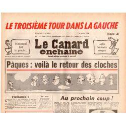 Canard Enchaîné (le) - n° 2995 - 22 mars 1978 - Pâques : voilà le retour des cloches