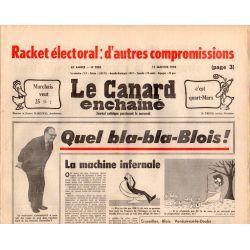 Canard Enchaîné (le) - n° 2985 - 11 janvier 1978 - Racket électoral : d'autres compromissions