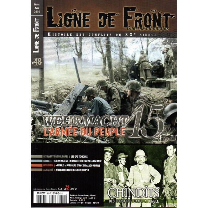 Ligne de Front n° 48 - Wehrmach 1945, l'Armée du Peuple