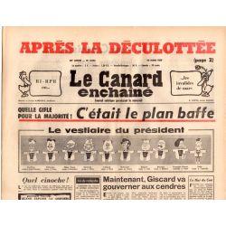 Canard Enchaîné (le) - n° 2943 - 23 mars 1977 - Après la déculottée