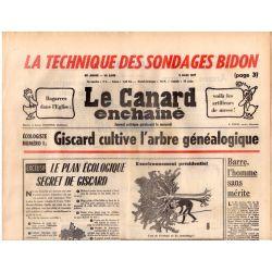 Canard Enchaîné (le) - n° 2940 - 2 mars 1977 - La technique des sondages bidon