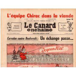 Canard Enchaîné (le) - n° 2930 - 22 décembre 1976 - Corvalan contre Boulovski : Un échange passe...