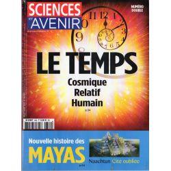 Sciences et Avenir n° 869 - Le Temps, Cosmique, Relatif, Humain