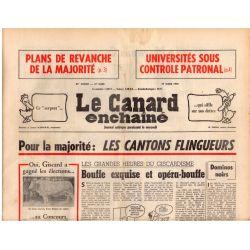 Canard Enchaîné (le) - n° 2890 - 17 mars 1976 - Pour la majorité : les cantons flingueurs