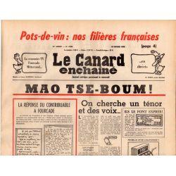 Canard Enchaîné (le) - n° 2886 - 18 février 1976 - Pots-de-vin : nos filières françaises