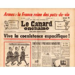 Canard Enchaîné (le) - n° 2855 - 16 juillet 1975 - Armes : La France reine des pots-de-vin