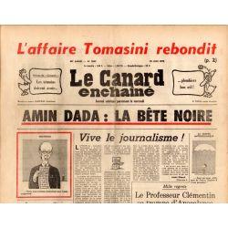 Canard Enchaîné (le) - n° 2852 - 25 juin 1975 - Amin dada : la bête noire