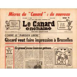 Canard Enchaîné (le) - n° 2848 - 29 mai 1975 - Micros du Canard : du nouveau