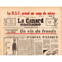 Canard Enchaîné (le) - n° 2839 - 26 mars 1975 - Viticulteurs du midi : Un vin de fronde