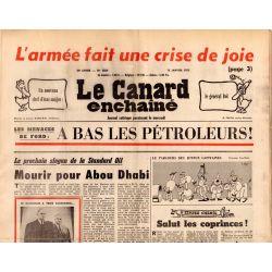 Canard Enchaîné (le) - n° 2829 - 15 janvier 1975 - L'armée fait une crise de joie