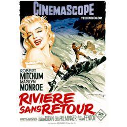 La Rivière sans retour (de Otto Preminger) - affiche film
