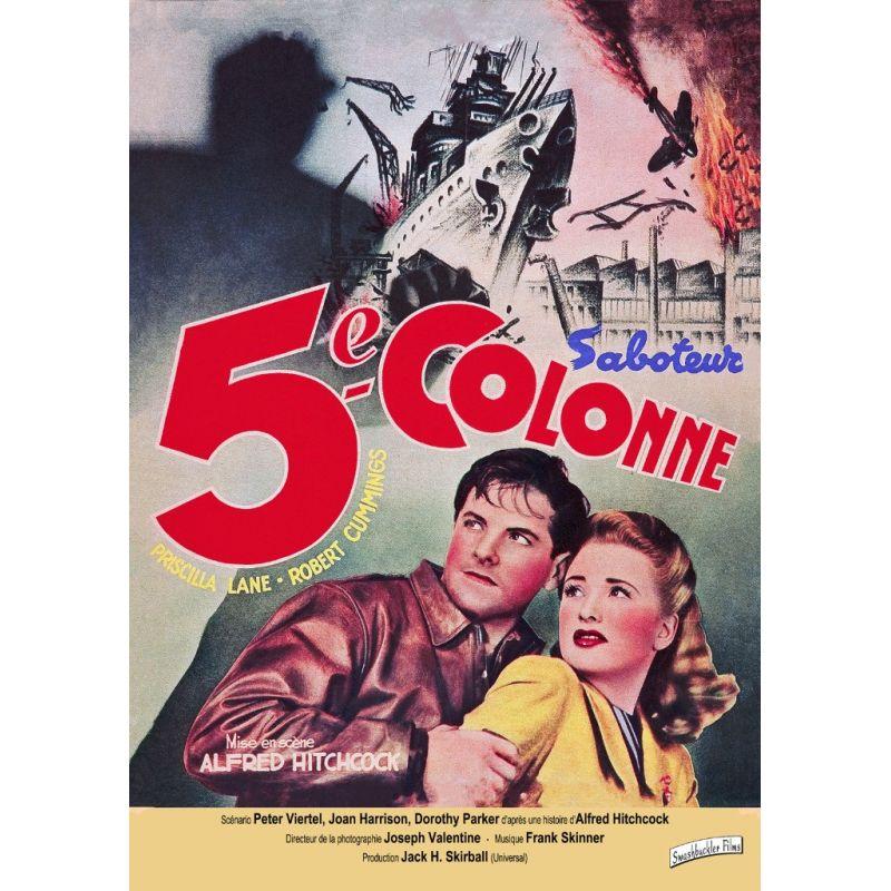 La Cinquième colonne (de Alfred Hitchcock) affiche film