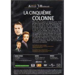 La Cinquième colonne (de Alfred Hitchcock) - DVD Zone 2