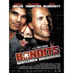 Affiche Bandits, Gentlemen braqueurs (de Barry Levinson)