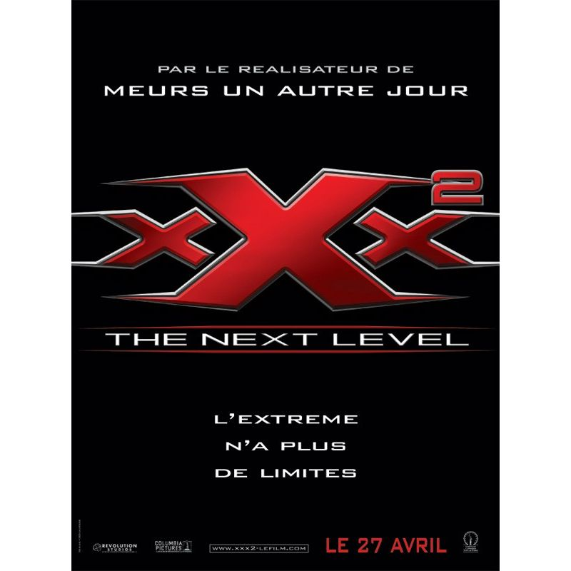 xXx The Next Level (de Lee Tamahori) Affiche film