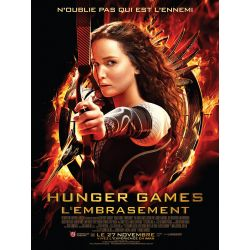 Hunger Games - L'embrasement (de Francis Lawrence) Affiche film