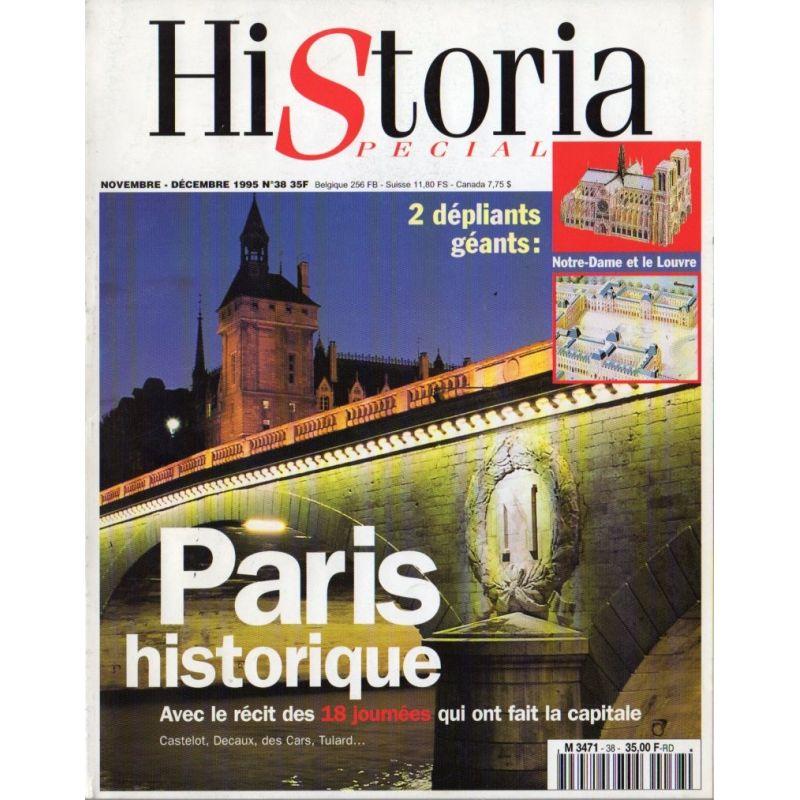Historia Spécial n° 38 - Paris historique