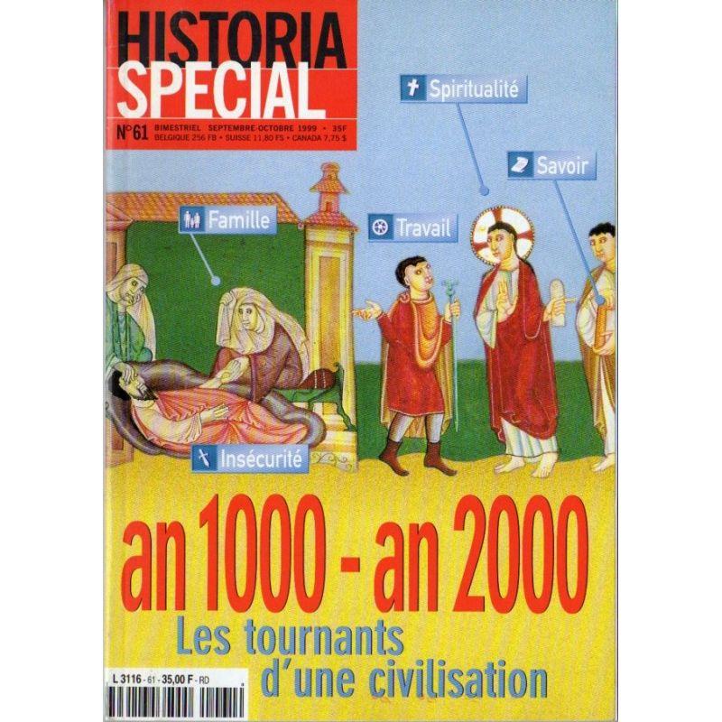 Historia Spécial n° 60 - An 1000 - an 2000, les tournants d'une civilisation