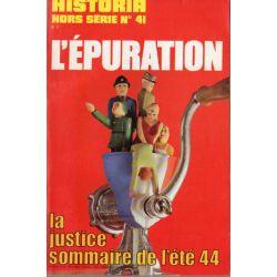 Historia Hors-Série n° 41 - L'Épuration, la justice sommaire de l'été 44