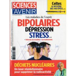 Sciences et Avenir n° 871 - Les maladies de l'esprit. Bipolaires, stress, dépression